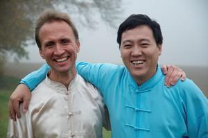 Meister Omkara und Großmeister Chen Bin