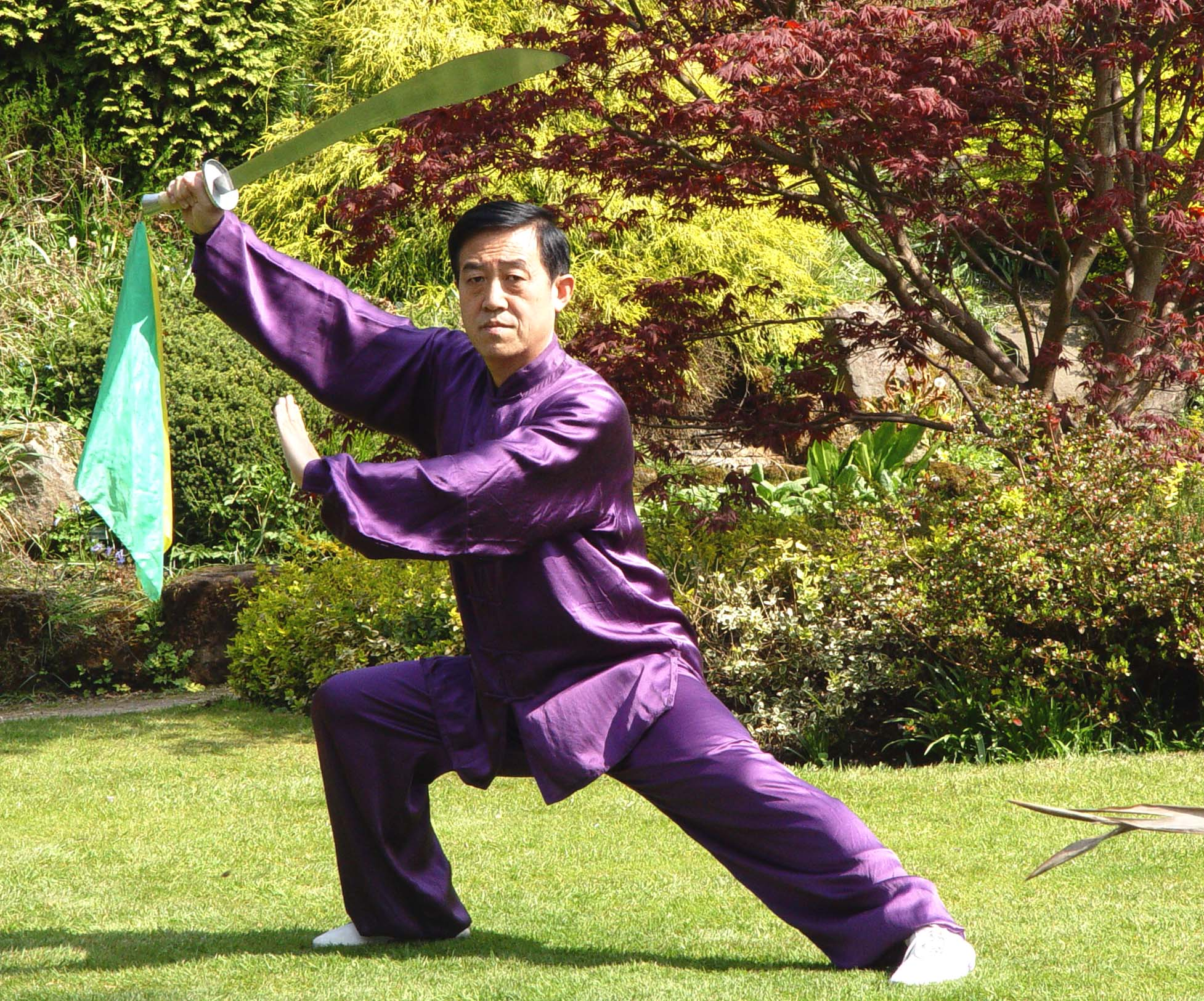 Great Grand Master of Chen-Taijiquan, Chen-Taiji Chen Zhenglei sable