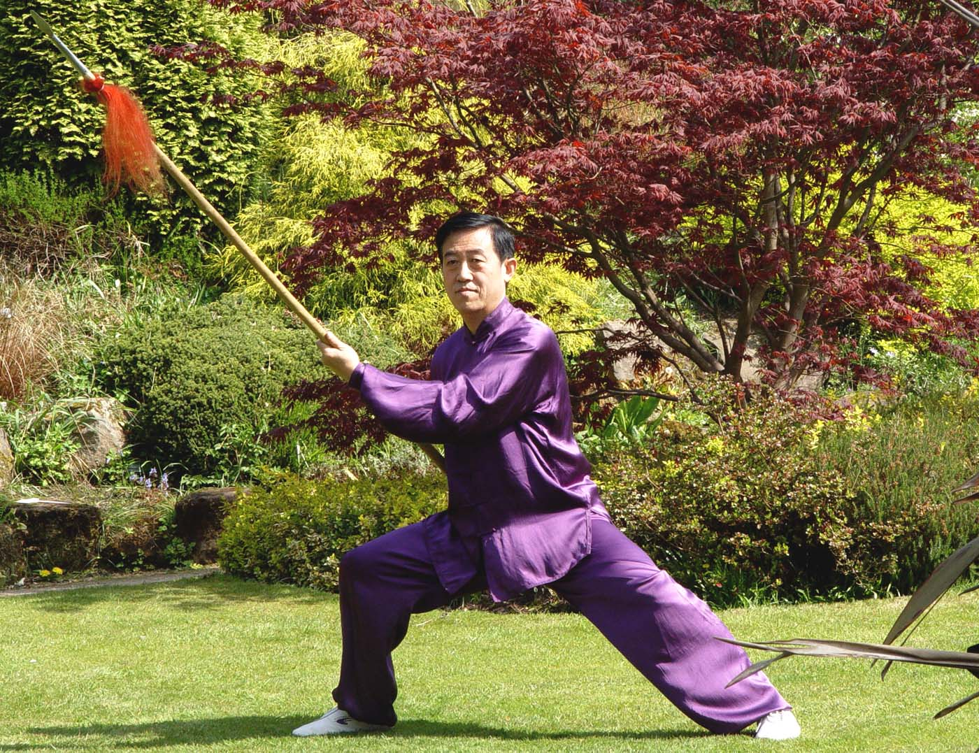 Great Grand Master of Chen-Taijiquan, Chen-Taiji Chen Zhenglei speer