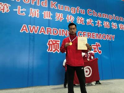 Wang Zi Chen Taichi Chen Taiji / Taijiquan Gold medal winner world championship