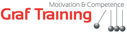 Graf Training in den Bereichen Kommunikation, Präsentation, Selbstmanagement und Persönlichkeitsentwicklung.